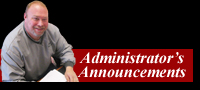 Click to Read the Administrator's Announcements